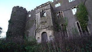 Inside collapsed Castle In Middle Of Nowhere !