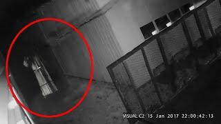 CCTV Footage Of Ghost Roaming About Inside A Building!! Ghost Video Compilation!!