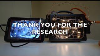 Spirit thanks me for my Research...take a listen. Portal App, Wonder Box.