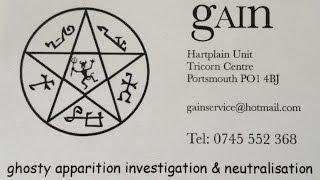 G.A.I.N. (2012) - paranormal investigators based on south coast of England.