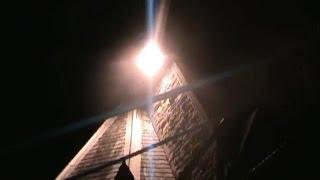 Real Paranormal Activity Caught On Tape At Haunted Graveyard - Lights Are Going Crazy