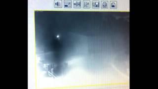 CCTV Camera captures Ghost something strange - Demonic or black mist ghostly