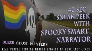 Queer Ghost Hunters sneak peek with spooky smart narrator