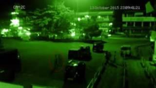 Real Paranormal Activity Caught on CCTV Camera   Ghost Following Man Caught On Camera  Scary ghost