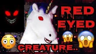 MYSTERIOUS RED EYED CREATURE..