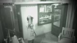 Ghost Pulling Chair Caught on CCTV Camera   Real Paranormal Activity  ghost hunting