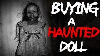 Creepypasta Story | Best Real Ghost Stories - Buying A Haunted Doll @FrostmareTV (#ghost #scary)