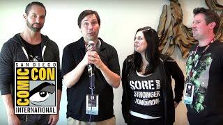 Nick Groff & Katrina Weidman Exclusive PARANORMAL LOCKDOWN Interview (Comic Con 2016)