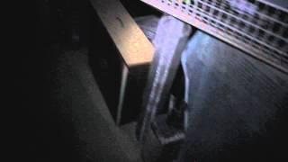 Scary ghost video footage in basement - Real life ghost video
