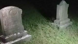 Haunted Ross Cemetery Indiana