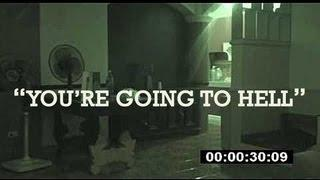 "Demon Voice ""You're Going To Hell"" Demonic Ghost EVP Lizzie Borden Video #9"