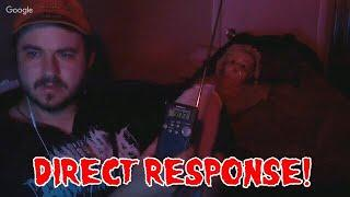 Super Intelligent Spirit Box Reply Clip From One Of Our Last Live Streams DIRECT RESPONSE POASTTOWN
