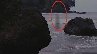 Haunted Ghost Caught On Camera In Sea | Ghostly Shadow Scary Videos | Haunted Videos