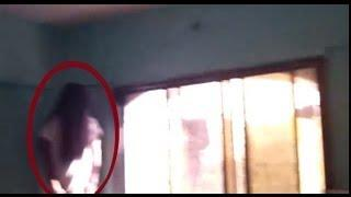 Most scary ghost caught tape | Real poltergeist caught on camera Scary Videos