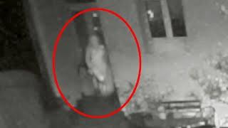Real Ghost Caught on Cctv Stepping Out Of An Abandoned House!!