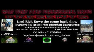 Half Past Dead Lord Rick Rowe Come Back Show