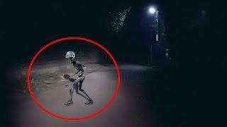 Mysterious Creature Caught On Camera At Night | Ghost or Alien | Scary Videos | Real Ghost Sighting
