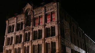 Haunted house ghost hunting horror