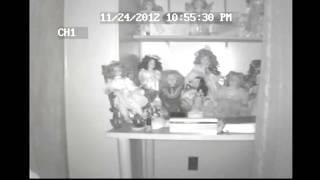 light anomalies seen next to dolls