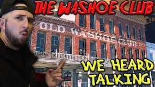 UNEXPLAINED SHADOW AT THE WASHOE CLUB IN VIRGINIA CITY