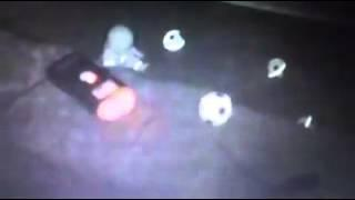 ball moving gilmerton cove Edinburgh