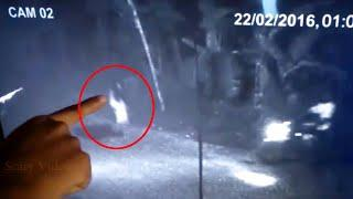 CCTV Recording Of Ghost In An Abandoned Road!!