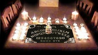 Ouija Board causes scary Paranormal Activity. Ghost caught on tape.