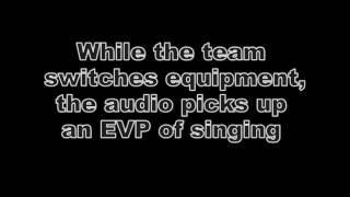 EVP of singing