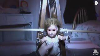 Real Haunted Doll Caught on Tape, Playing Jelangkang in a Haunted House