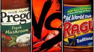 Prego VS Ragu - Food VS Food