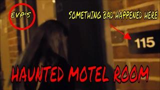 PARANORMAL ROOM AT MOTEL IN GEORGIA (SOMETHING BAD HAPPENED HERE)!