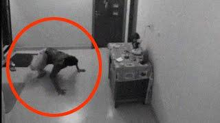 Ghost Attack Caught On CCTV Camera | Scary Videos | Paranormal Activity