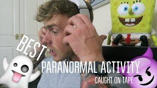 BEST PARANORMAL ACTIVITY VIDEOS CAUGHT ON TAPE! - Compilation Reaction