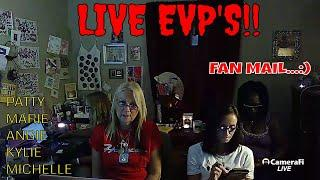 "LIVE SPIRIT BOX SESSION WITH FANS & ""FAN MAIL""!!"