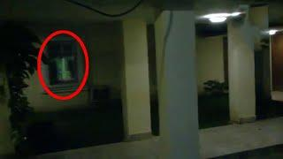 Ghost Shadow Caught on Camera From a Old House !! Paranormal Activity Footage