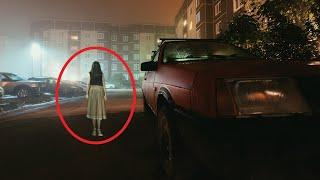 Ghost Inside A Moving Car!! Real Creature Spotted Inside A Moving Car