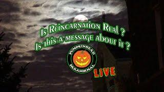 Using a Radio Ghost Box. A possible message about reincarnation.
