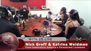 Nick Groff & Katrina Weidman - Dead X Radio Sound Bite