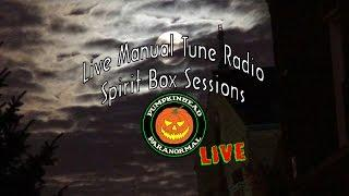 LIVE Manual Tune Radio Ghost Box Session and some Ghost Box Apps & Scanning Radios too.