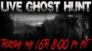 Scary!!! LIVE Paranormal Ghost Hunt 2013 Ghost Box Paranormal Activity Footage