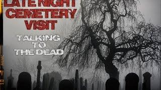 Late Night Cemetery Visit with the Impossble Box