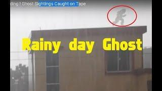 Real Ghost caught jumping on building ! Ghost Sightings Caught on Tape