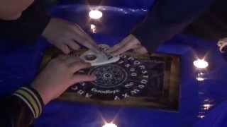 Ouija Board Session at Haunted Cemetery