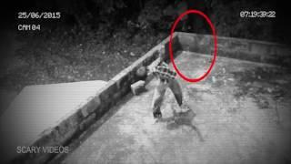 Hanging Ghost Accidentally Caught On Camera | Terrifying Ghost Videos
