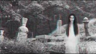 Real Ghost Caught on Camera in Cemetery !! Supernatural Ghostly Figure Compilation