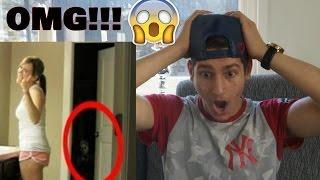 Real Life Paranormal Activity (SCARY) Reaction!!