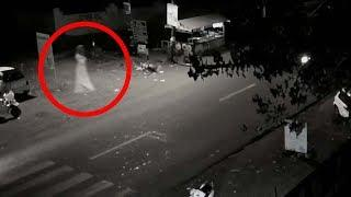 Real Ghost Sightings Ever Caught On Road On CCTV Tape | Real Ghost Footage Of 2017