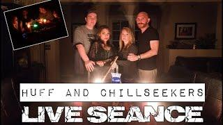 LIVE SEANCE: Huff Paranormal & Chillseekers in Steve Huff's Home - GEOBOX