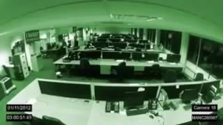 scary ghost caught in office || wo kya hay | real jinn caught on camera