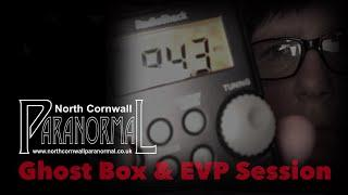 GHOST BOX & EVP SESSION LIVE ON YOUTUBE